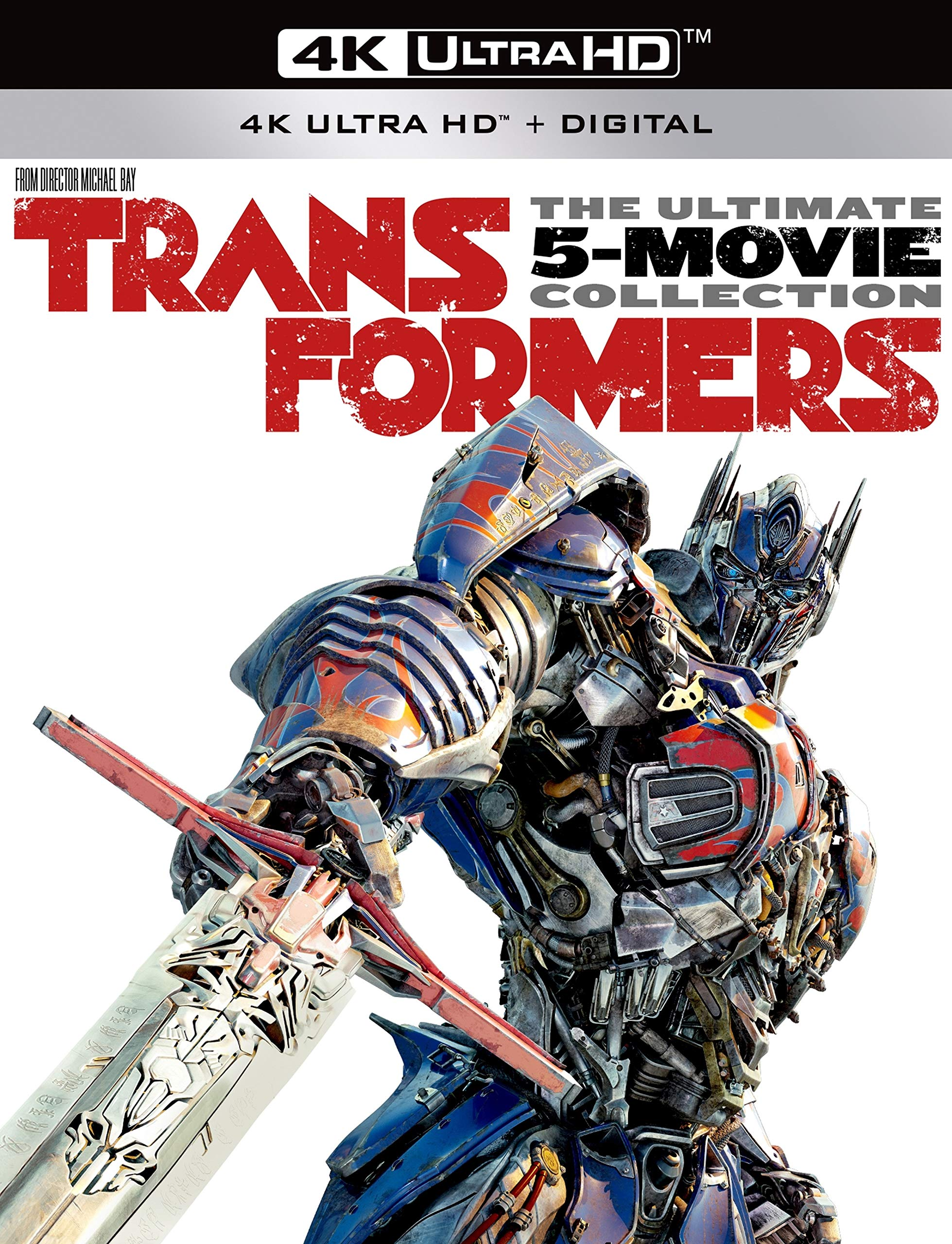 4K Blu-ray : Transformers: The Ultimate Five Movie Collection (With Blu-ray, 4K Mastering, Boxed Set, Widescreen, Dolby)