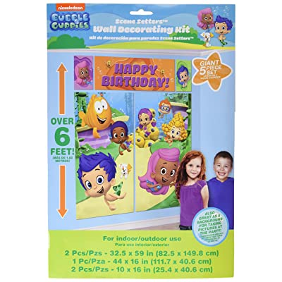 Bubble Guppies Wall Poster Decorating Kit (5pc): Toys & Games