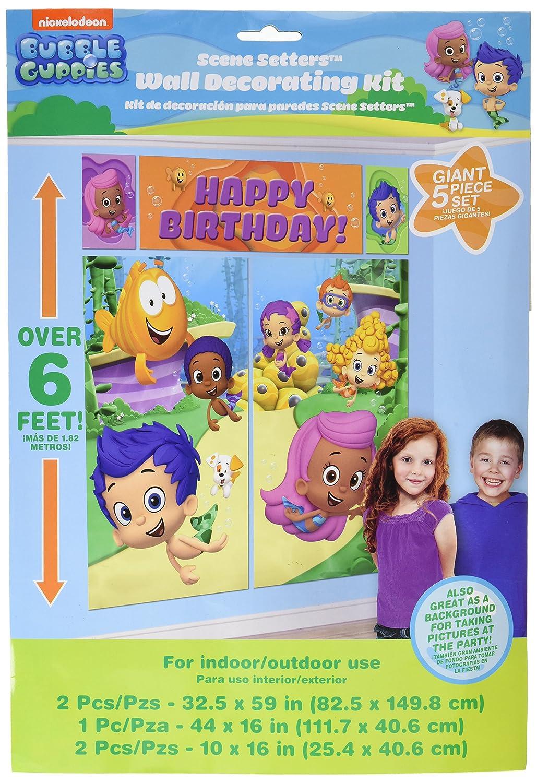 Amazon bubble guppies wall poster decorating kit 5pc toys amazon bubble guppies wall poster decorating kit 5pc toys games amipublicfo Images