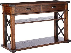 "Progressive Furniture Landmark Sofa/Console Table, 48"" x 16"" x 30"", Vintage Ash"