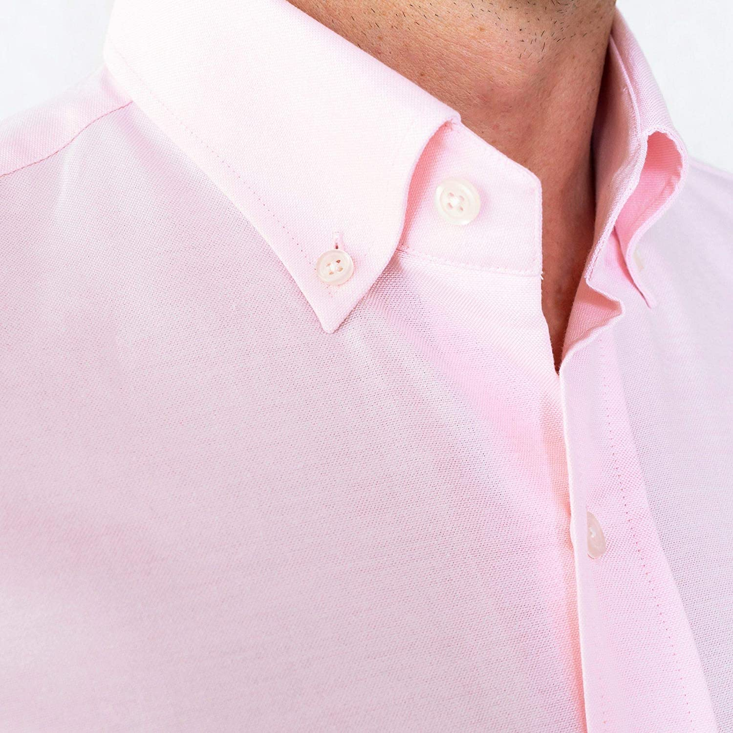 The Tailored Fit Mens Mayfield Oxford Dress Shirt