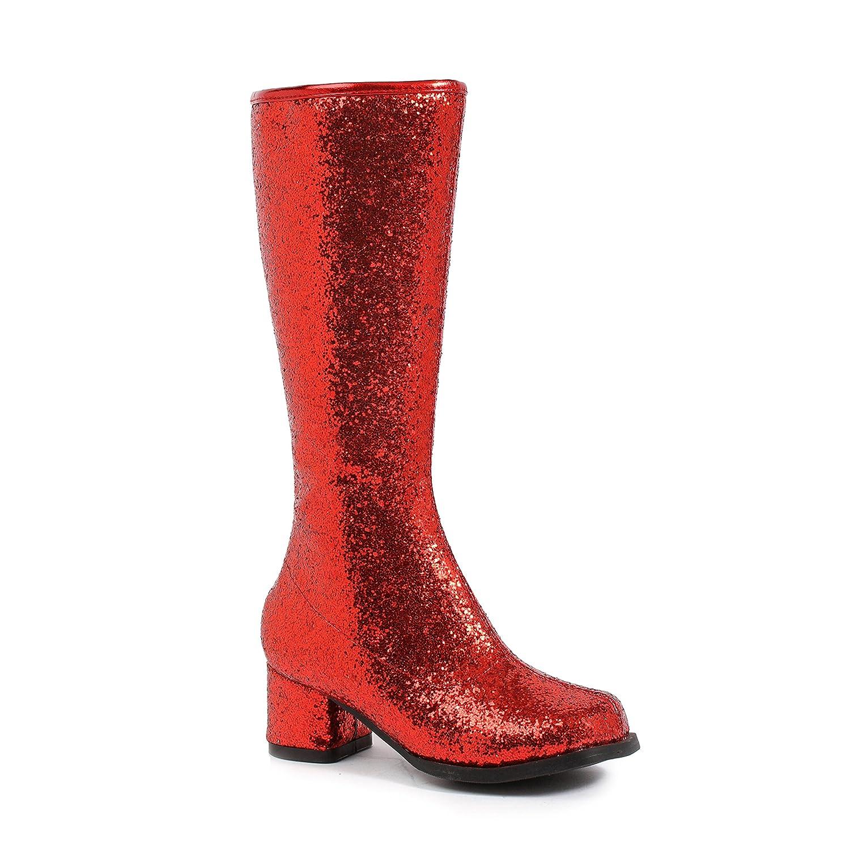 "Black Dora Girl/'s Gogo Boots w// 1.75/"" Heel"