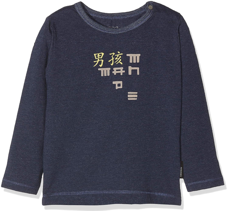 Noppies B tee LS Wasco Camiseta de Manga Larga Unisex beb/é