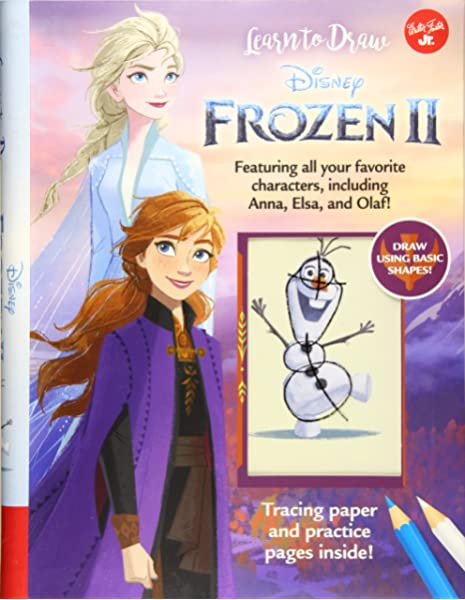 Learn To Draw Disney Frozen 2 Featuring All Your Favorite