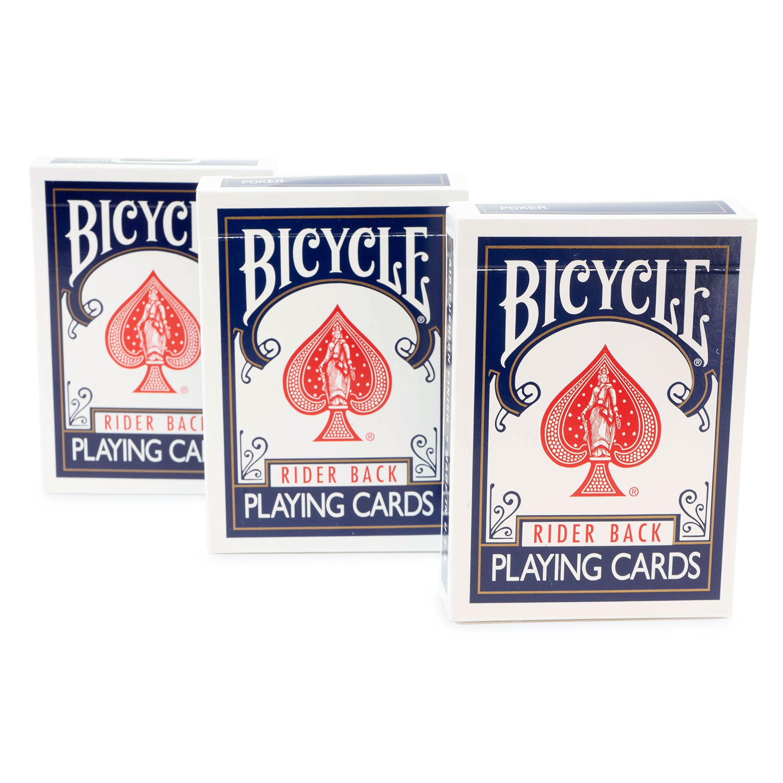 Rock Ridge Magic Masters Bicycle Combo: Invisible, Svengali and a Standard Deck Blue Back