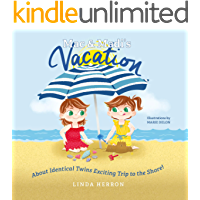 Mac & Madi's Vacation: About Identical Twins Exciting Trip to the Shore! (Twins, Mac & Madi Book 3)