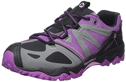Merrell Grassbow Sport, Women's Velcro Low Rise Hiking Shoes -  Black/Hyacinth, ...