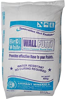wall putty colour