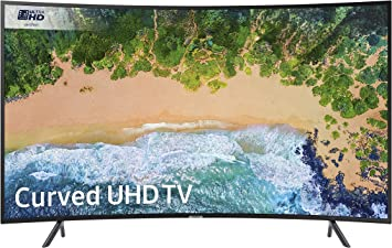 Samsung Ue65nu7300 de 65 Pulgadas Curvo 4k Ultra HD HDR Certificado Smart TV: Amazon.es: Electrónica