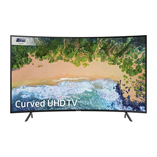 Samsung UE49NU7300 49-Inch Curved 4K Ultra HD Certified HDR Smart TV - Charcoal Black (2018 Model) [Energy Class A]