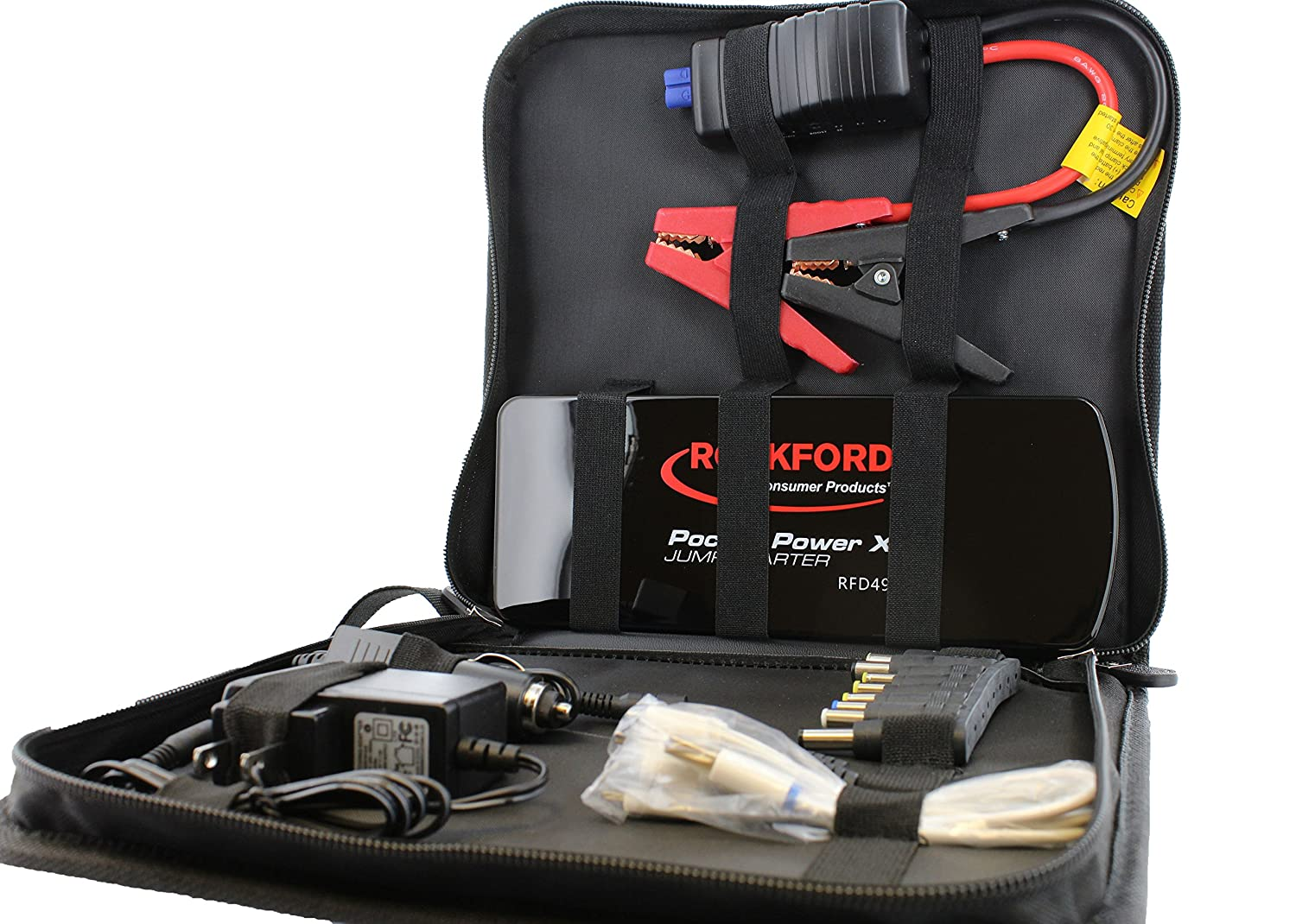 Amazon.com: Rockford RFD4902 Pocket Power XD Mini Jump Starter: Industrial  & Scientific