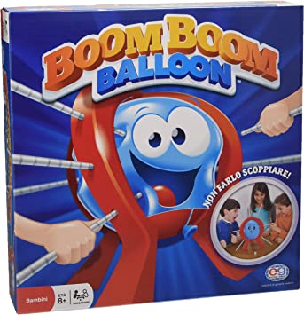 Spin Master Games - Boom Boom Balloon Juego de Mesa, 6025031: Amazon.es: Juguetes y juegos