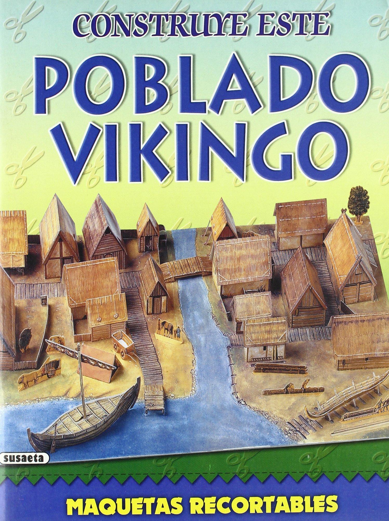 Poblado vikingo: Equipo Susaeta: 9788430519873: Amazon.com ...