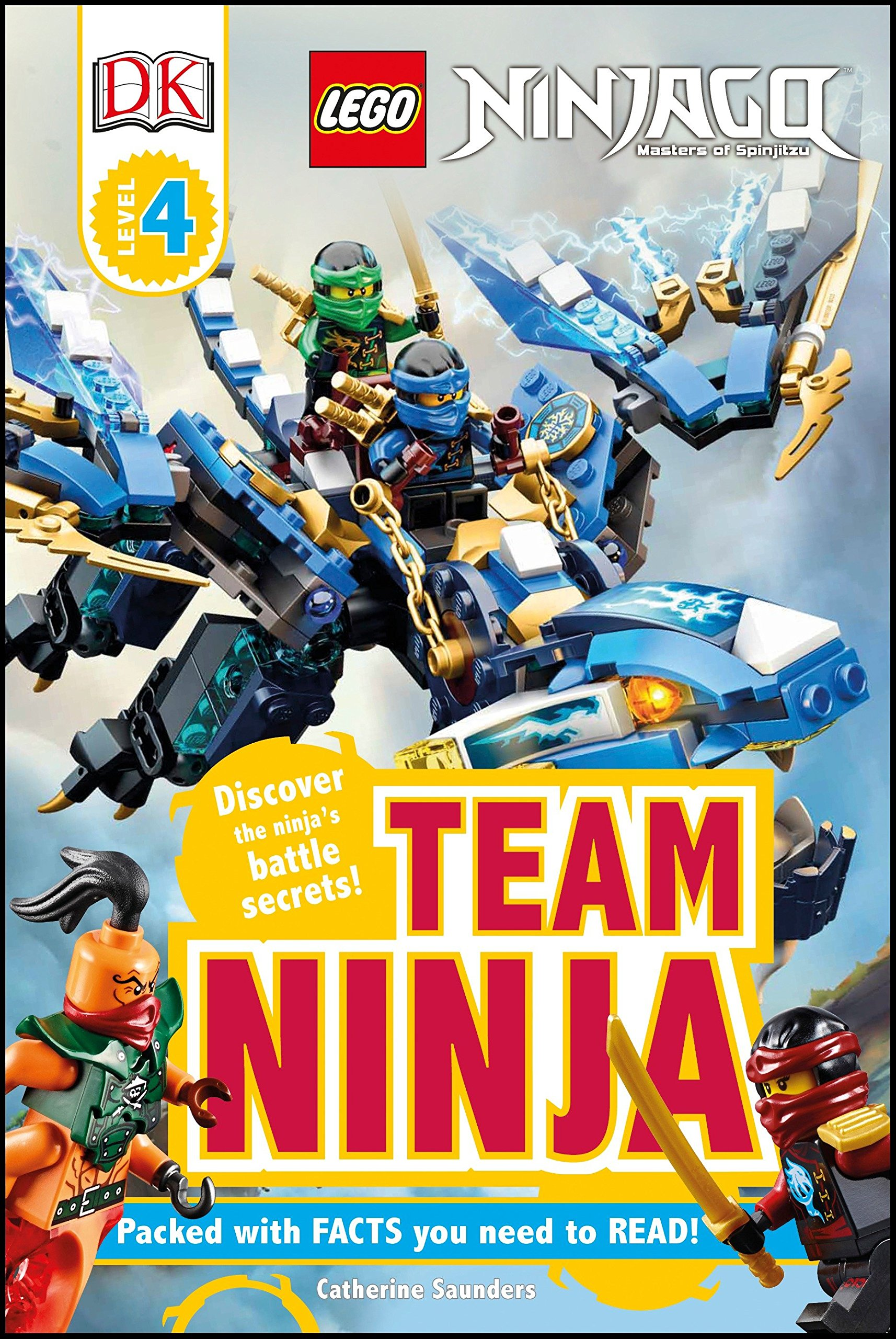 DK Readers L4: Lego Ninjago: Team Ninja: Discover the ...