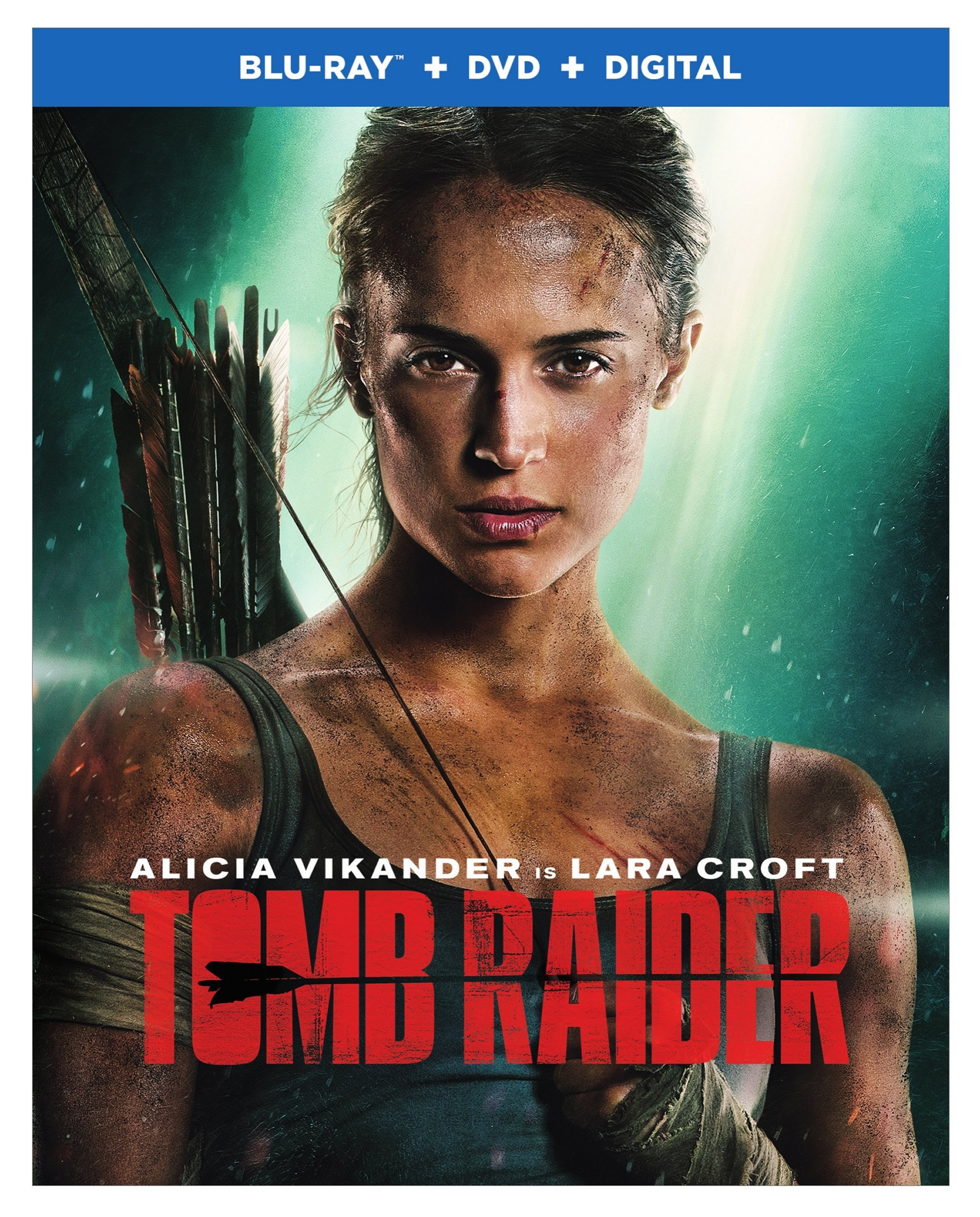 Blu-ray : Tomb Raider (With DVD, Ultraviolet Digital Copy, Dolby, AC-3, Dubbed)