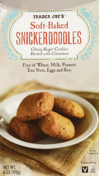 Amazon Com Trader Joes Soft Baked Snickerdoodles Chewy Sugar