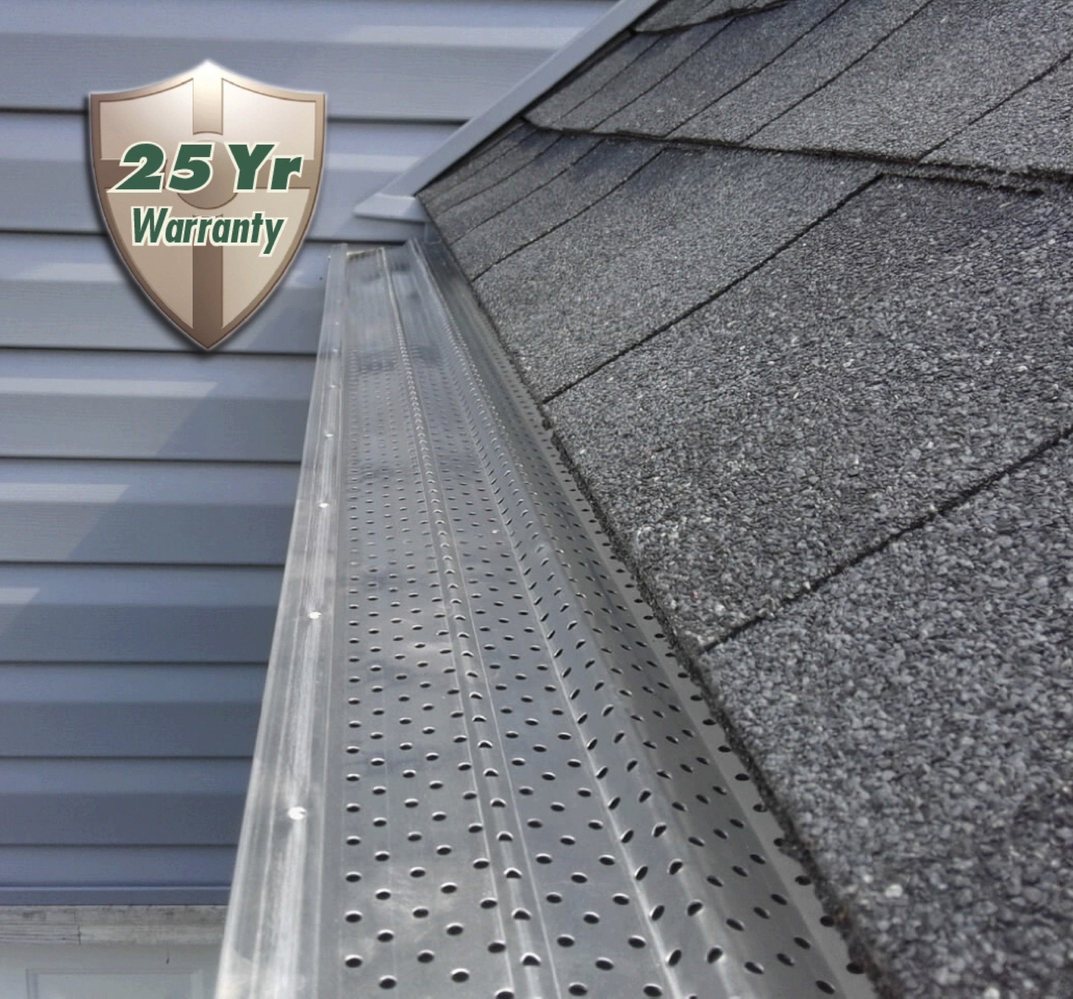 A-M Aluminum Gutter Guard 5'' - 200 feet by A-M Gutter Guard