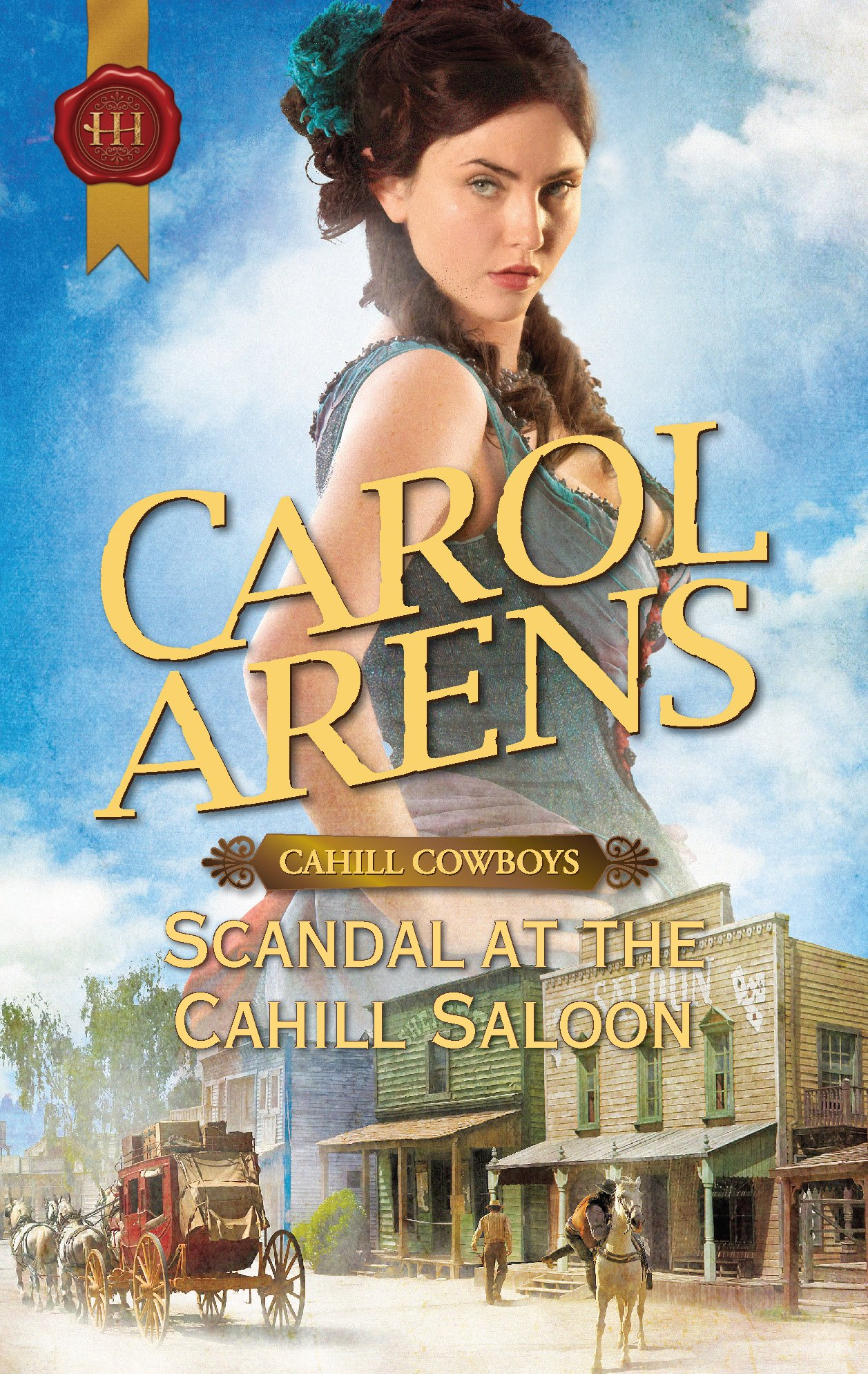 Scandal at the Cahill Saloon ebook