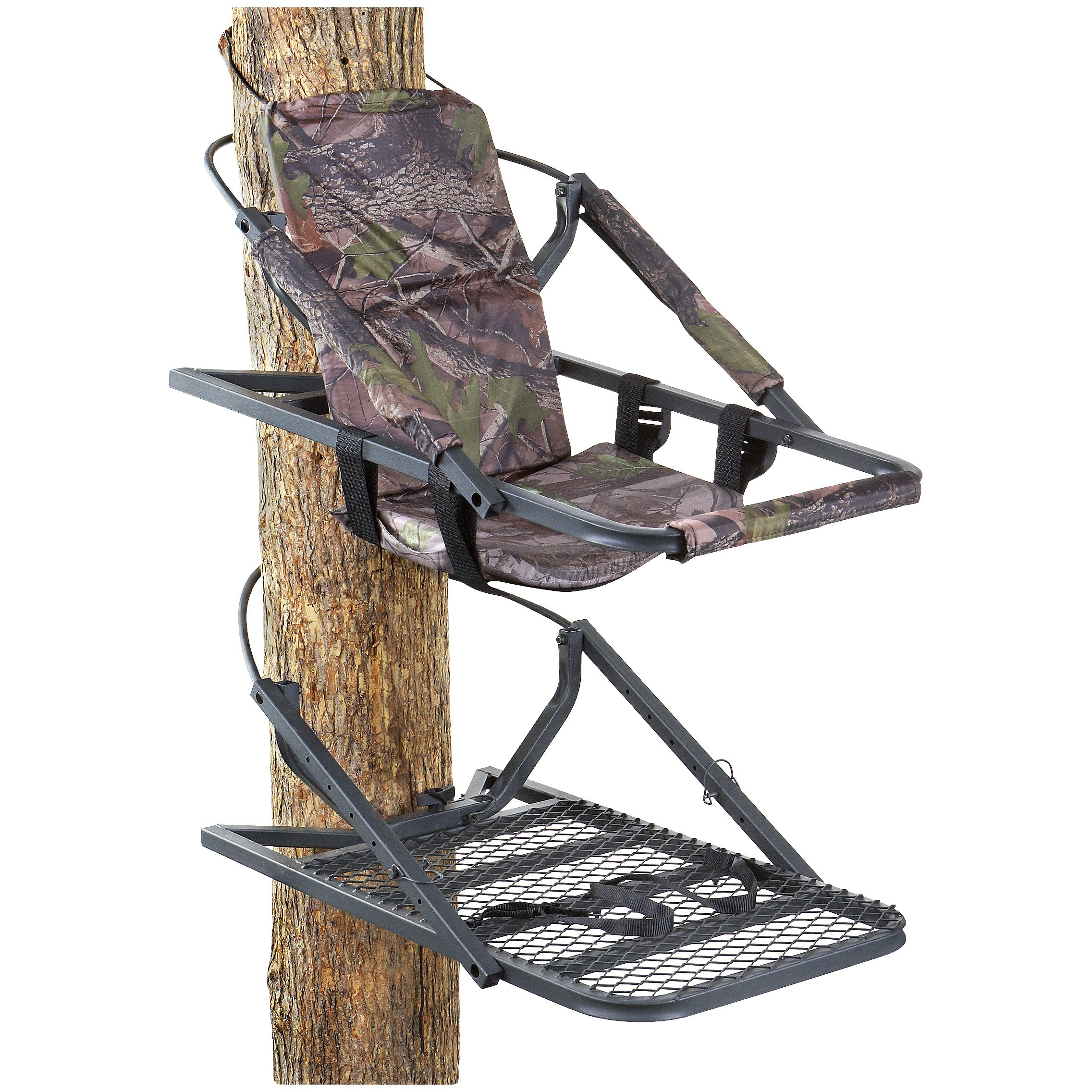 Guide Gear Extreme Deluxe Hunting Climber Tree Stand by Guide Gear