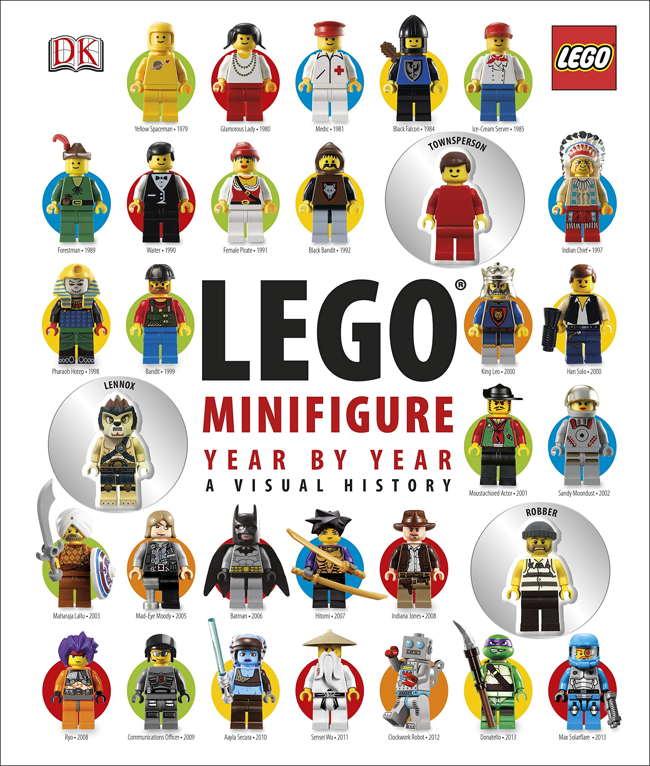 LEGO® Minifigure Year By Year A Visual History  With 3 Minifigures  Dk Lego