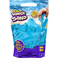 Kinetic Sand, The Original Moldable Sensory Play Sand, Blue, 2 lb. Resealable Bag, Ages 3+