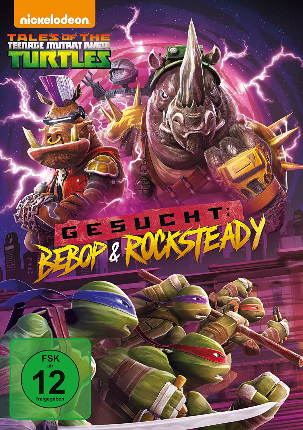 Teenage Mutant Ninja Turtles - Gesucht: Bebop und Rocksteady ...