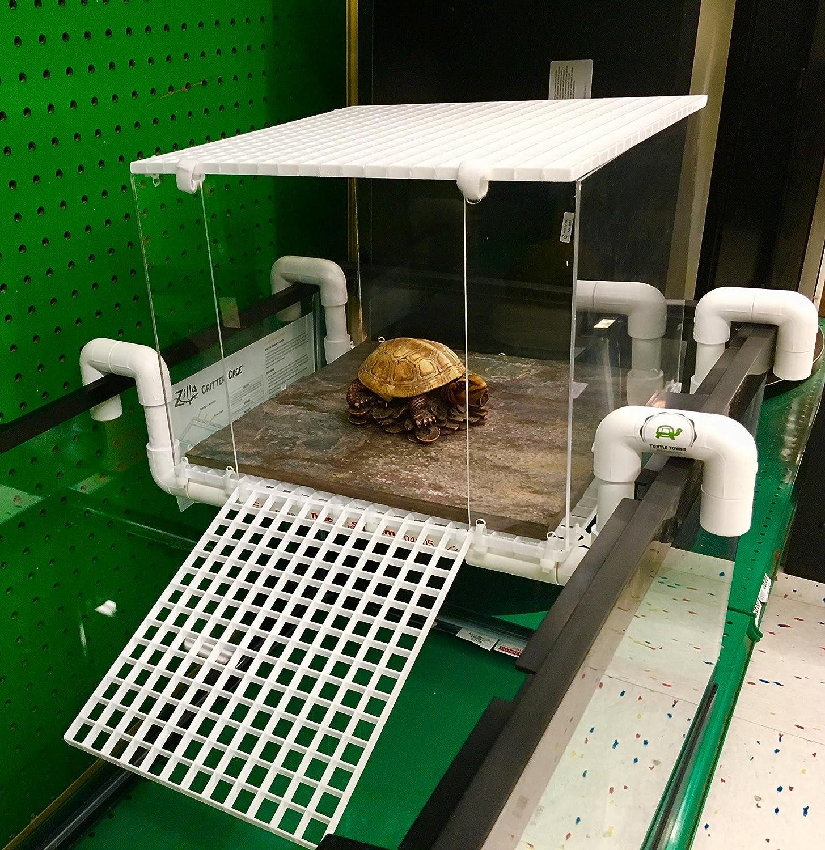Large Turtle Tower Above Tank Acrylic Model Turtle Basking Platform Turtle  Dock Basking Dock Turtle Tank Accessory