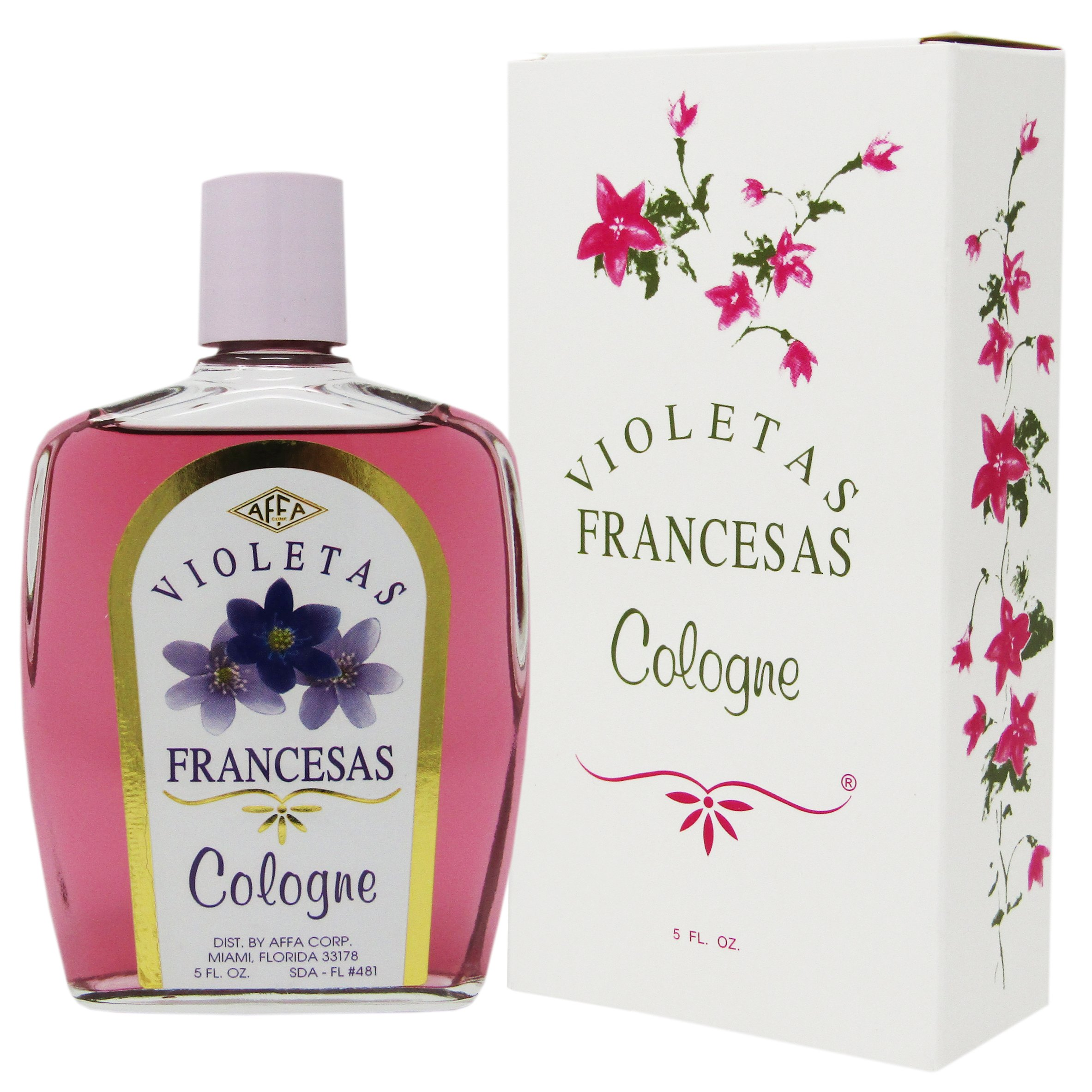 Amazon.com : Corlys Violets Cologne 8oz. A Cuban Delight : Baby Care ...
