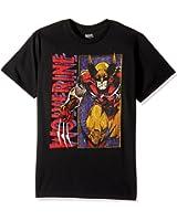 Marvel Men's Wolverine Classic Character T-Shirt