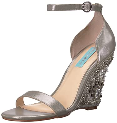247fa780ea2f Blue by Betsey Johnson Women s SB-Alisa Wedge Sandal