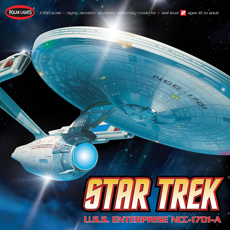 Star trek uss enterprise ncc refit 1 scale model - Amazon Com Polar Lights Star Trek Uss Enterprise A Model Kit Toys Games