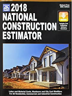Attractive National Construction Estimator 2018: Includes Free Estimating Software  Download