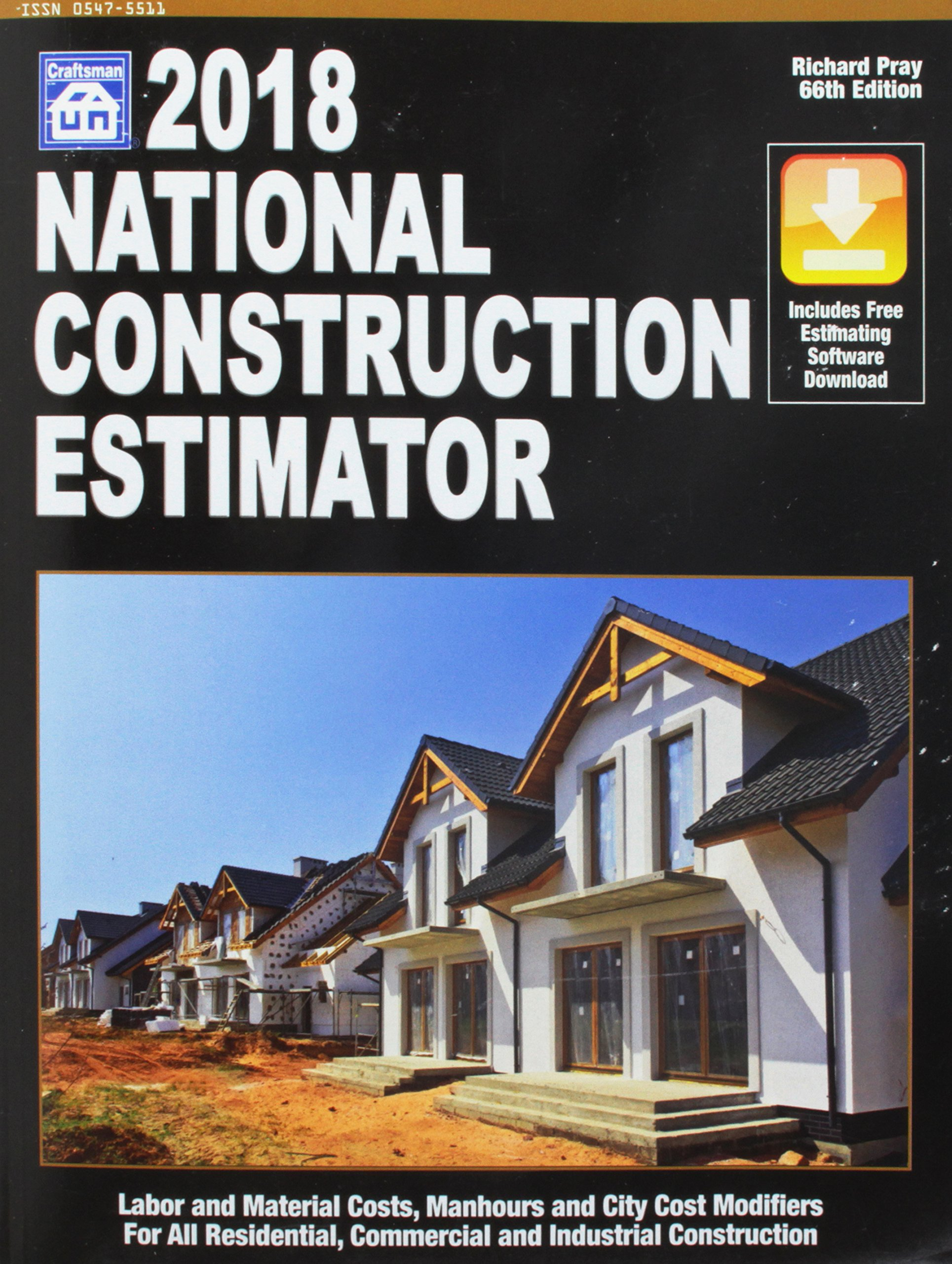 National Construction Estimator 2018: Includes Free Estimating Software Download