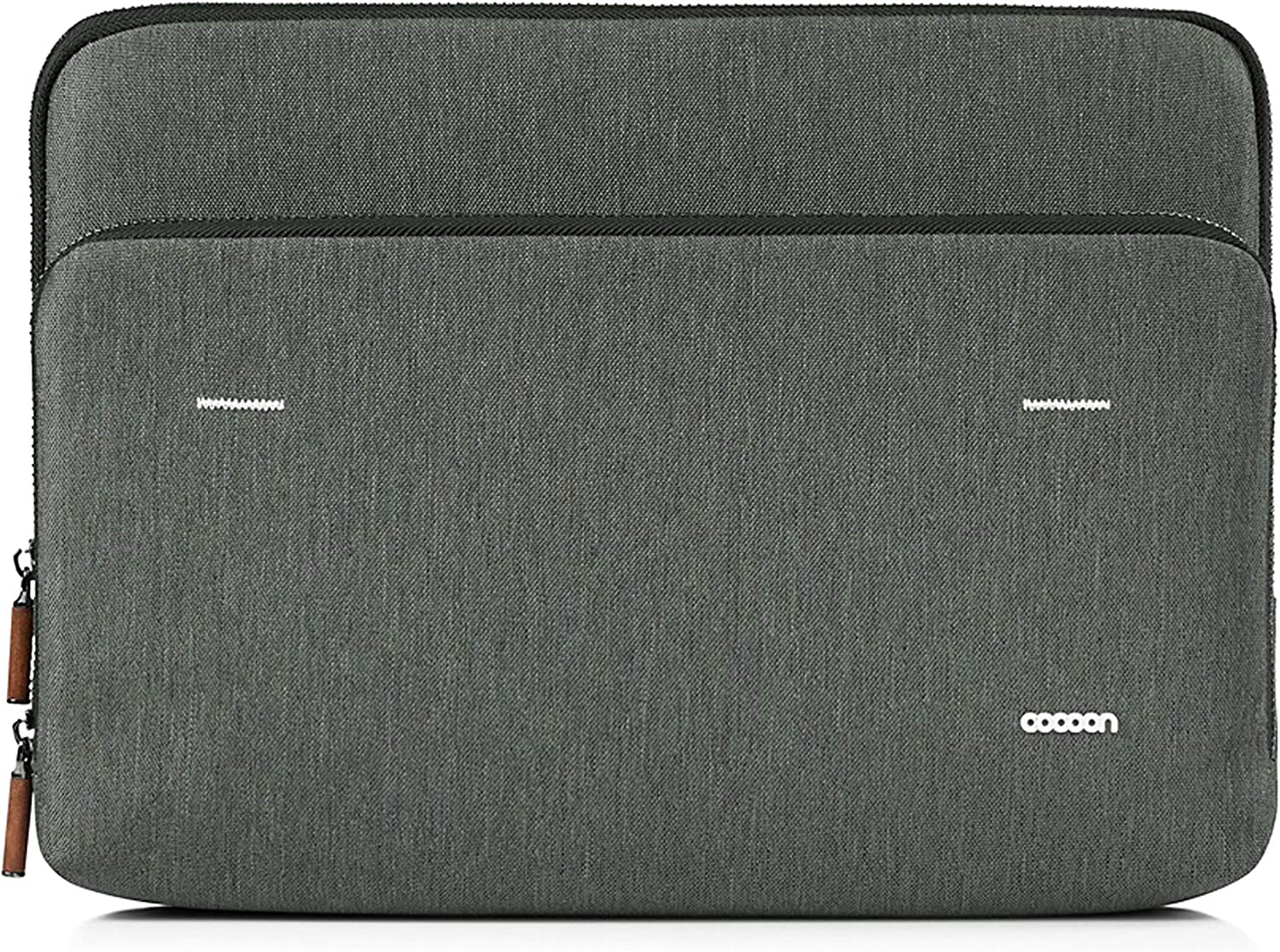 "Cocoon MCS2301GF/V2 Graphite 13"" Sleeve with Built-in Grid-IT! Accessory Organizer (Graphite Gray)"