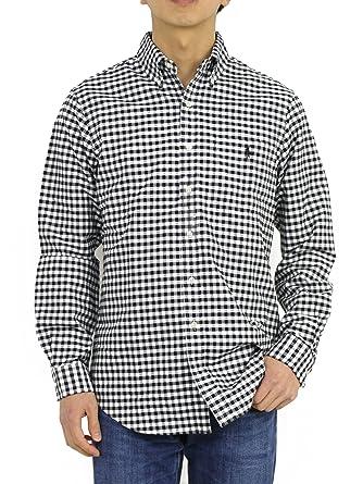 8a3d71c3 Ralph Lauren Men's Classic Fit Oxford Button-Down Shirt (S, Black ...