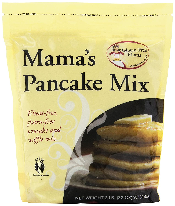 Sin Gluten Pancake Mix de la Mama, Mama y Waffle de mezclar ...