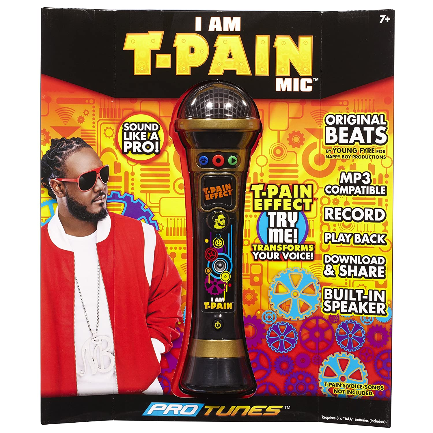 ProTunes I Am T-Pain Mic - Gold Creative Designs Inc. 79507