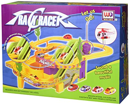 Amazon Com Track Racer Racing Cars Toy For Kids Toys Games
