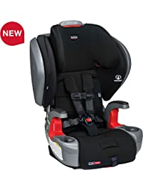 Britax Grow with You ClickTight Plus Harness-2-Booster Car Seat - 3 Layer Impact Protection - 25 to 120 pounds, Jet...
