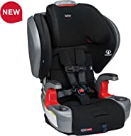 Britax Grow with You ClickTight Plus Harness-2-Booster Car Seat - 3 Layer Impact Protection - 25 to 120 Pounds, Jet Safewash
