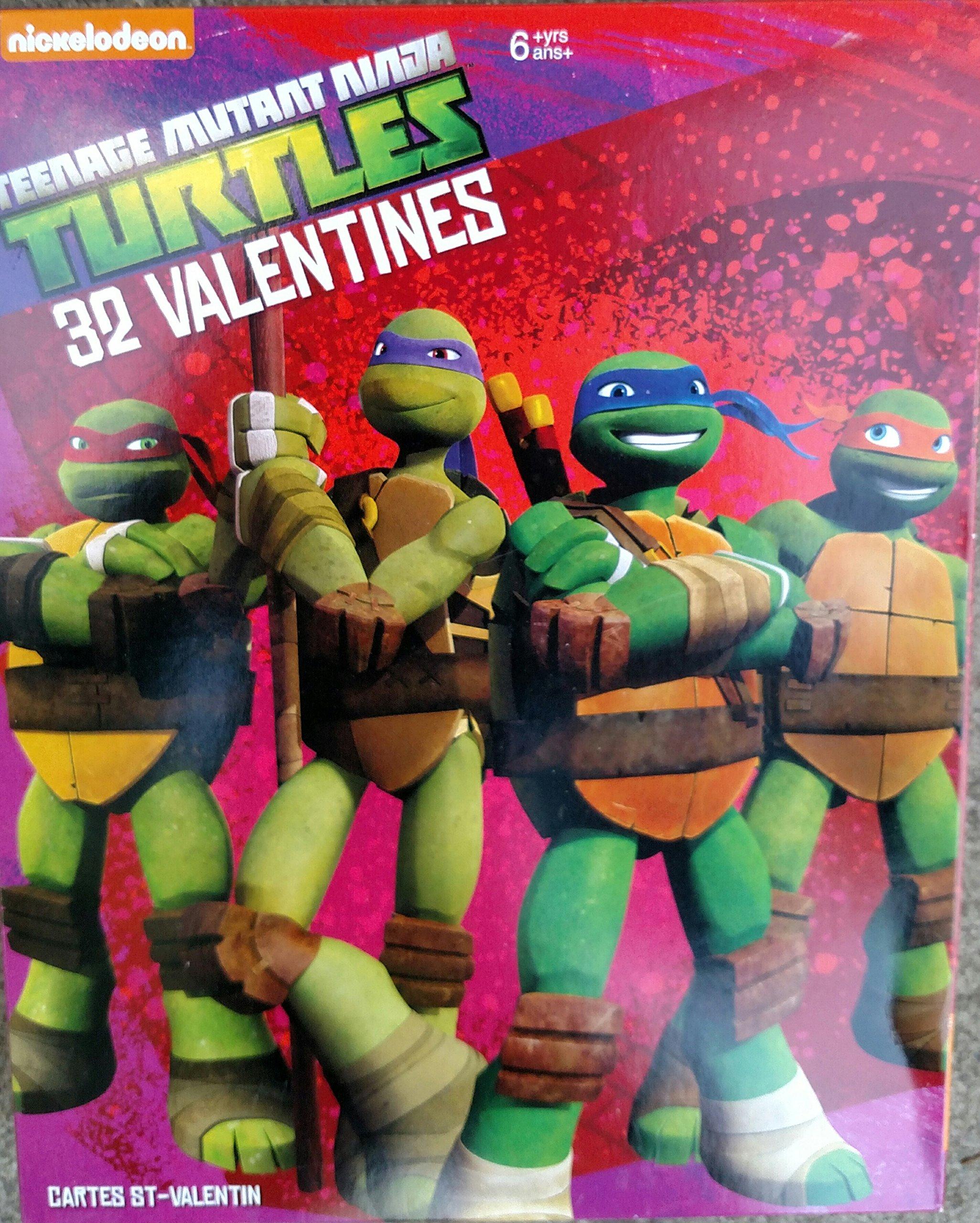 Amazon.com: Nickelodeon Teenage Mutant Ninja Turtles 32 ...