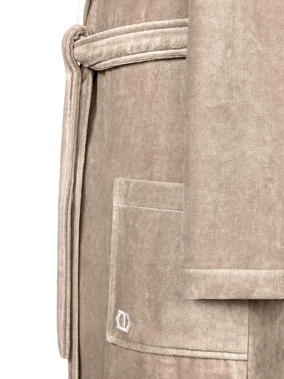 Togas Bathrobe Art LINE 100/% Cotton Brown,White