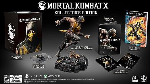 Amazon Com Mortal Kombat X Kollector S Edition Xbox One Video Games