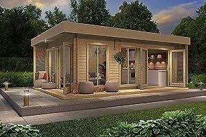 Allwood Bonaire | 225 SQF resort styled Cabin Kit