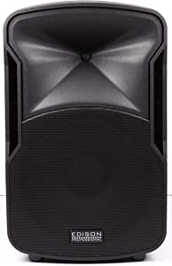 Edison Professional St-3000 Multi-Function Loud Speaker and PA System, Black ST3000