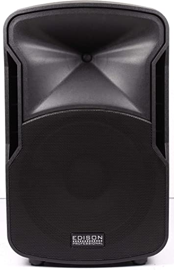 Edison Professional St-9 Multi-Function Loud Speaker and PA System,  Black ST9