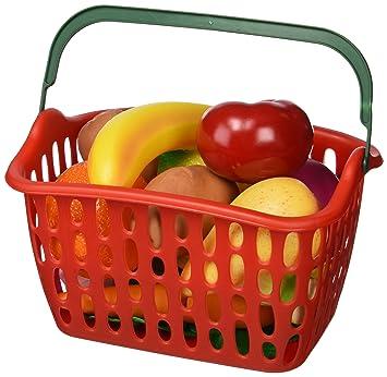 Miniland - Cestita frutas y hortalizas, 15 piezas (30767)