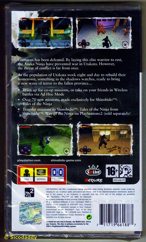 Shinobido - Tales of the Ninja: Amazon.es: Videojuegos