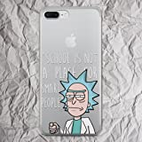 Rick and Morty Case for iPhone X 8 7 6s 6 Plus se 5se 5 Cell