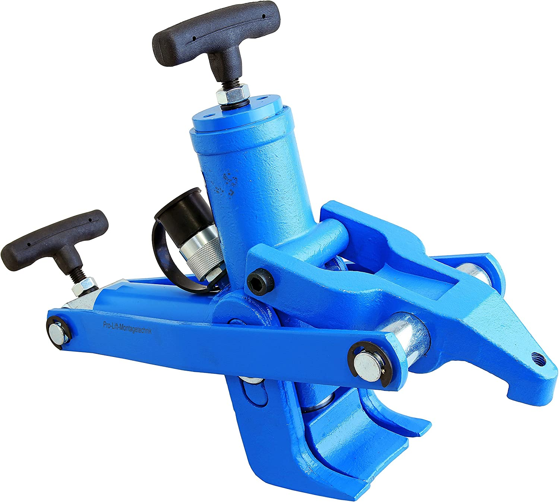 Pro Lift Werkzeuge Reifenabdrücker Hydraulischer Abzieher Reifenabdruckhilfe Bead Breaker Reifenmontiermaschine Wulstbrecher Baumarkt